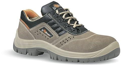 Zapato Seguridad Piel Ante Taupe perforada Dream S1P SRC U-POWER Beige Size: 37