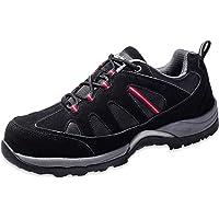 Walkchic Work Steel Toe Shoe Men's Safety Outdoor Protection Footwear OilSlipResistant