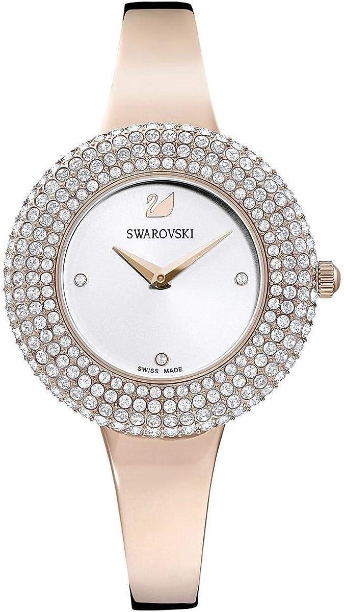 Reloj Swarovski 5484073 Crystal Rose MB Pro/Wht/Pro, Color Bronce con Brillantes