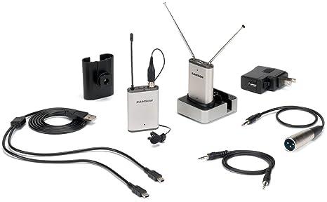 Samson - Airline micro camera e1 microfono inalambrico de solapa ...