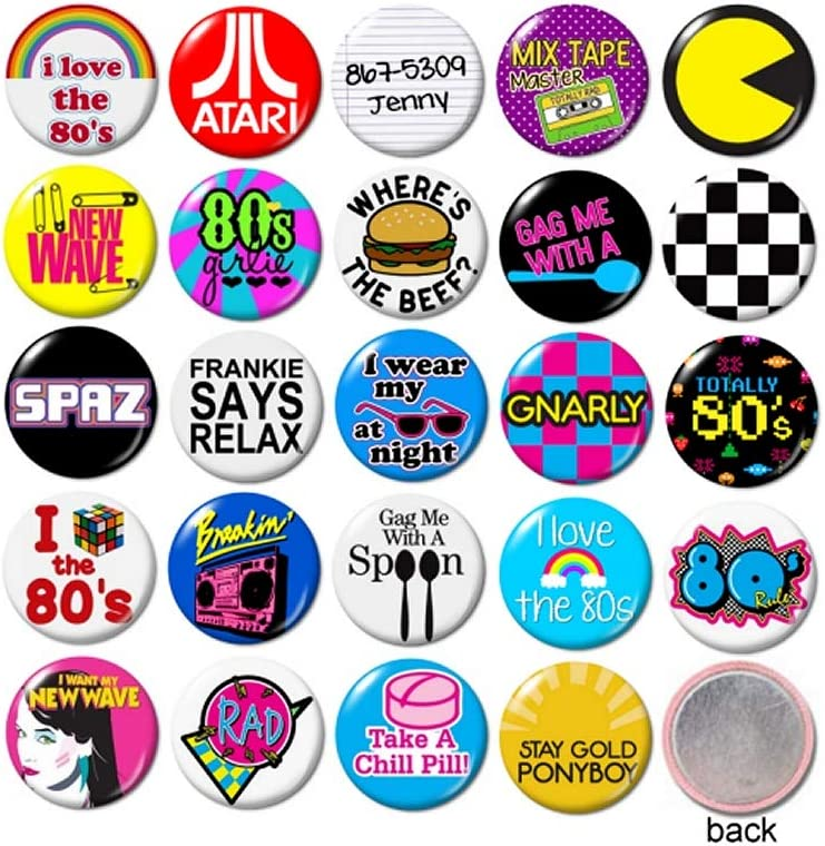 Blue Peter Fun Badge80s TV EightiesButton Pin Badge25mm 1 Inch