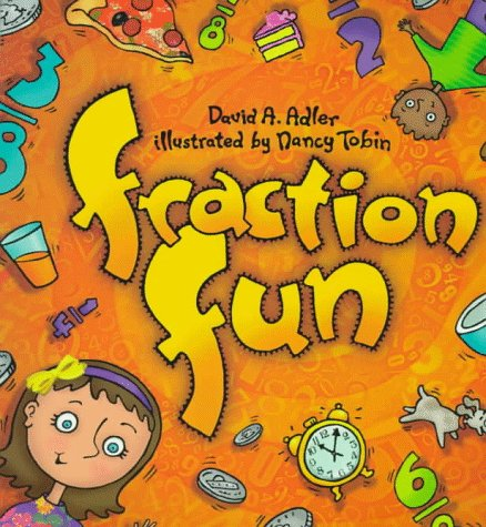 fraction fun book for kids