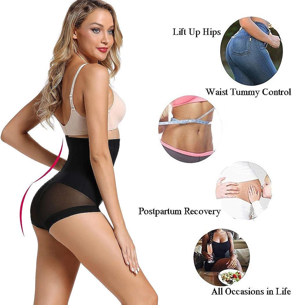 Joyshaper Figurformender Miederslip Damen Bauch Weg Stark Formend ohne Bein Miederhose Miederpants Nahtlose Hohe Taille Shaping-Unterw/äsche Mit Bauch-Weg-Effekt