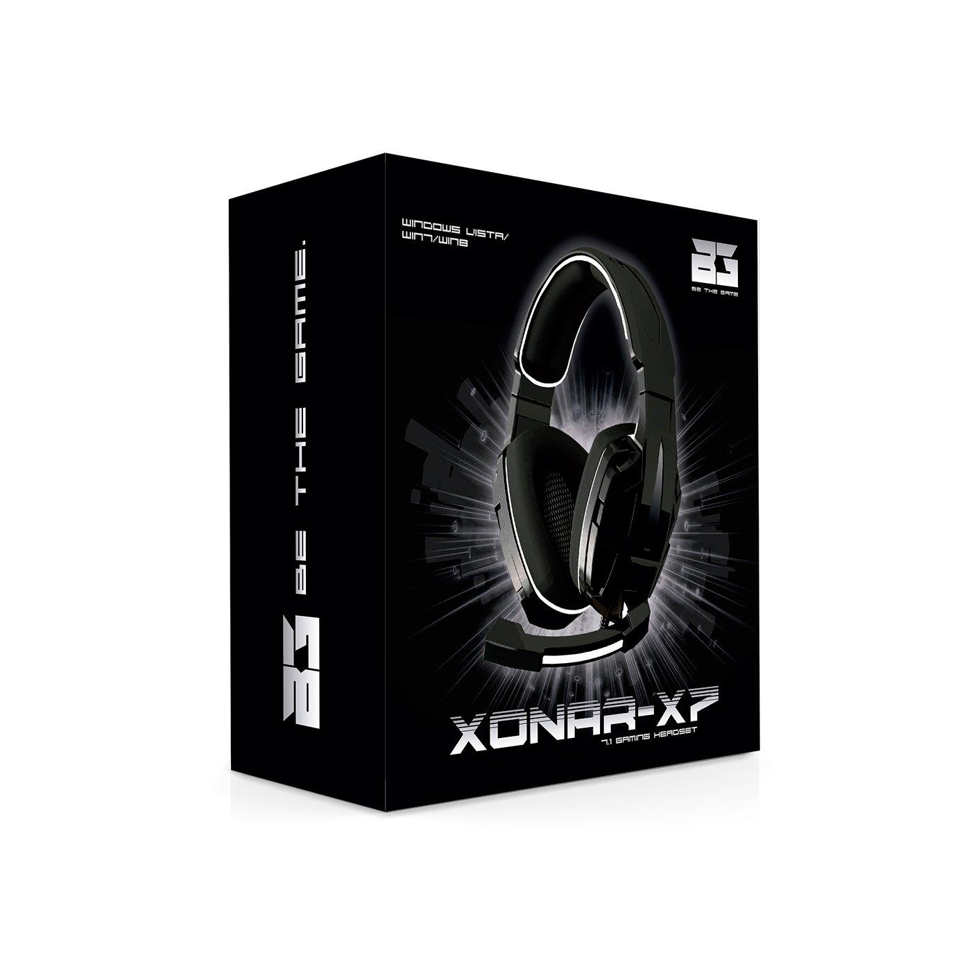 BG-Gaming Xonar-X7 - Auriculares de Diadema Cerrados Gaming: Amazon.es: Electrónica