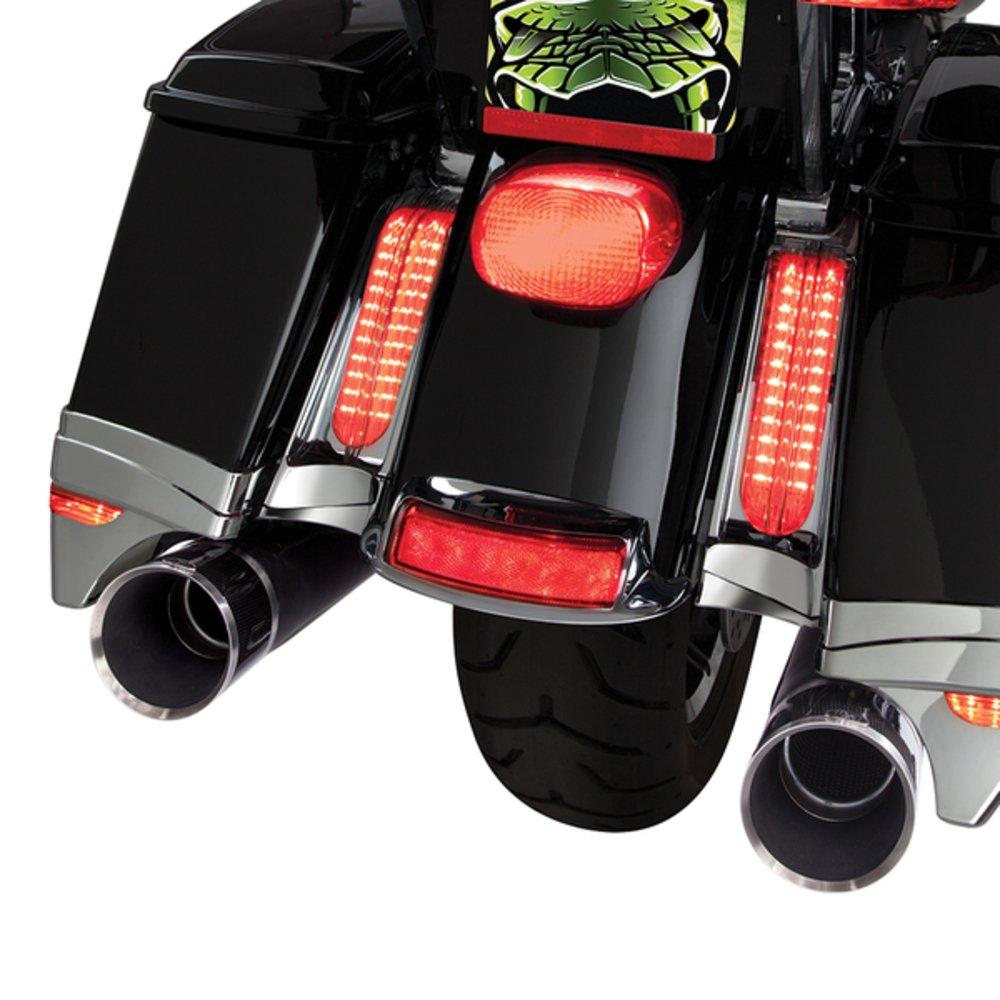 Ciro LED Light Filler Panels 14-up Harley-Davidson Ultra /& Road King Motorcycle