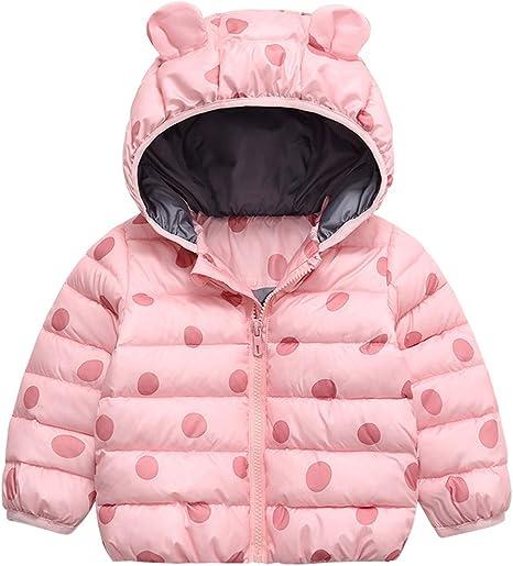 Little Girl's Baby Toddler Kids Ears Outerwear Coat Jacket(L
