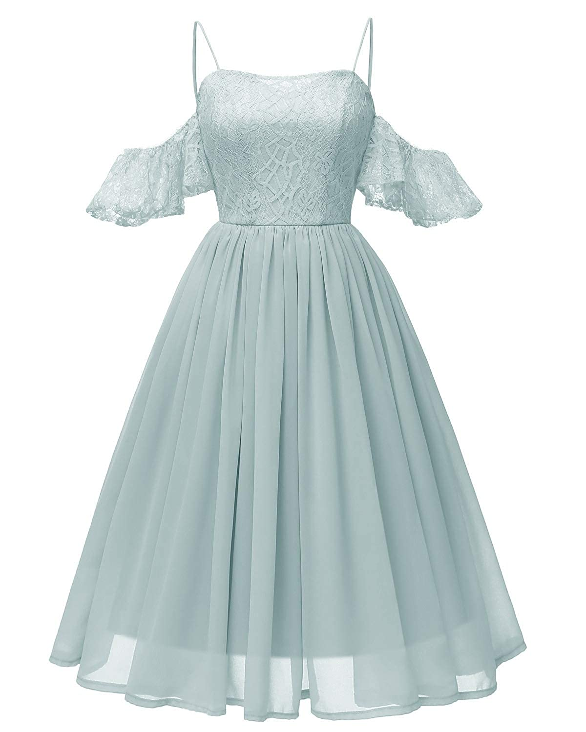 bluee Zooka Embroidery Vintage Lace Dress Women Dresses Short Sleeve Casual Evening Party A Line