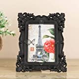 A Vintage Affair Plastic Square Shape Antique Photo Frame for Wall Hanging or Table Decor