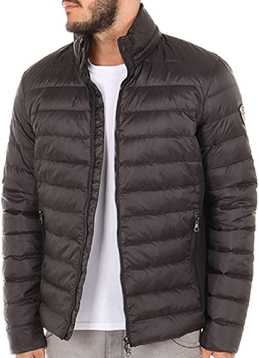 3b18afb763f EA7 Emporio Armani Down jacket 6YPB14 PN22Z Black 1200  Amazon.co.uk ...