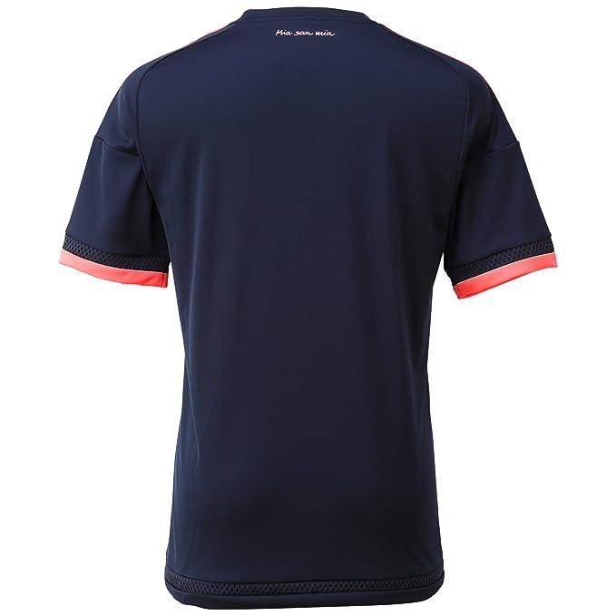adidas Performance Polo Football Homme FC Bayern manches courtes Marine (300) M cyYowgY6