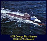 SSBN 598 USS George Washington Submarine Boomers Polaris Missiles Cold War old films DVD