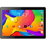 """BENEVE 10.1"""" Inch Tablet Android 7.0 Quad CORE Super, 2GB RAM + 16GB ROM, 1.3GHz CPU, Dual Camera, Front 2MP+Rear 5MP, Dual 5G WiFi, BT, HD IPS Screen, Play Store, Netflix Installed,Upgraded"""