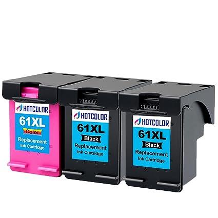 hotcolor 3 PK cartuchos de inyección de tinta compatibles HP ...
