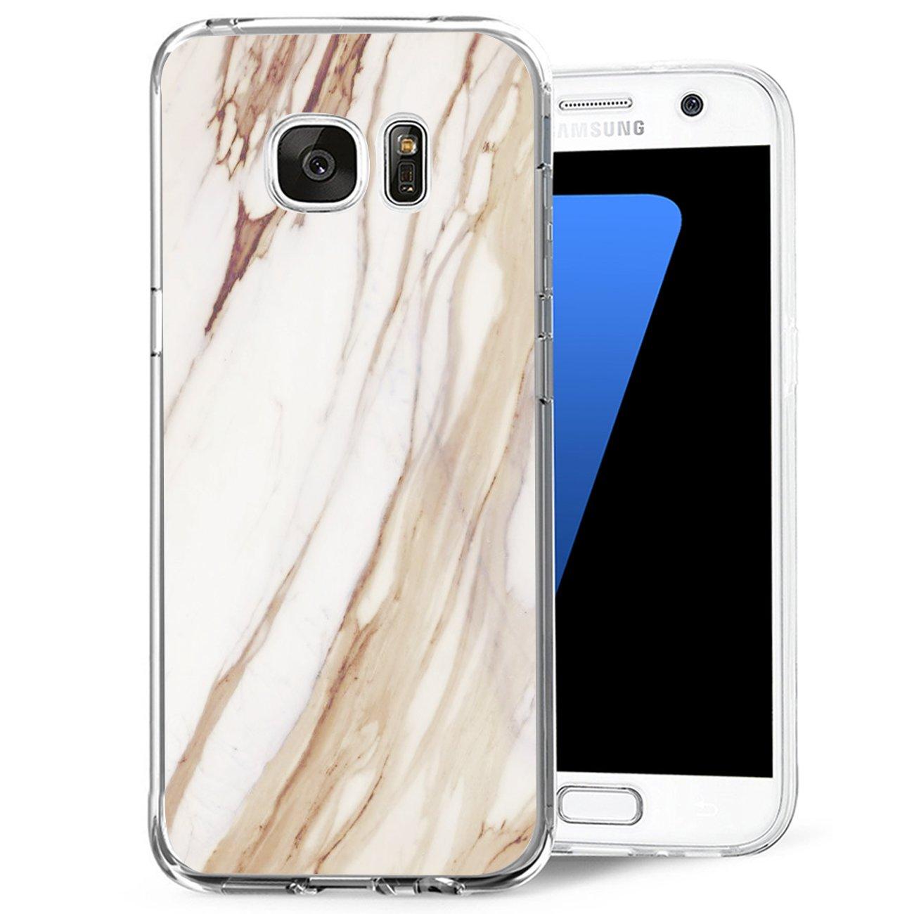 13peas Galaxy S7 Hülle, S7 Handyhüllen Crystal Clear Ultra Dünn Flexibel Silikon Case Transparent TPU Weiche Schutzhülle Slimcase Tasche für Galaxy S7/S6 13peas Galaxy S7 Hülle