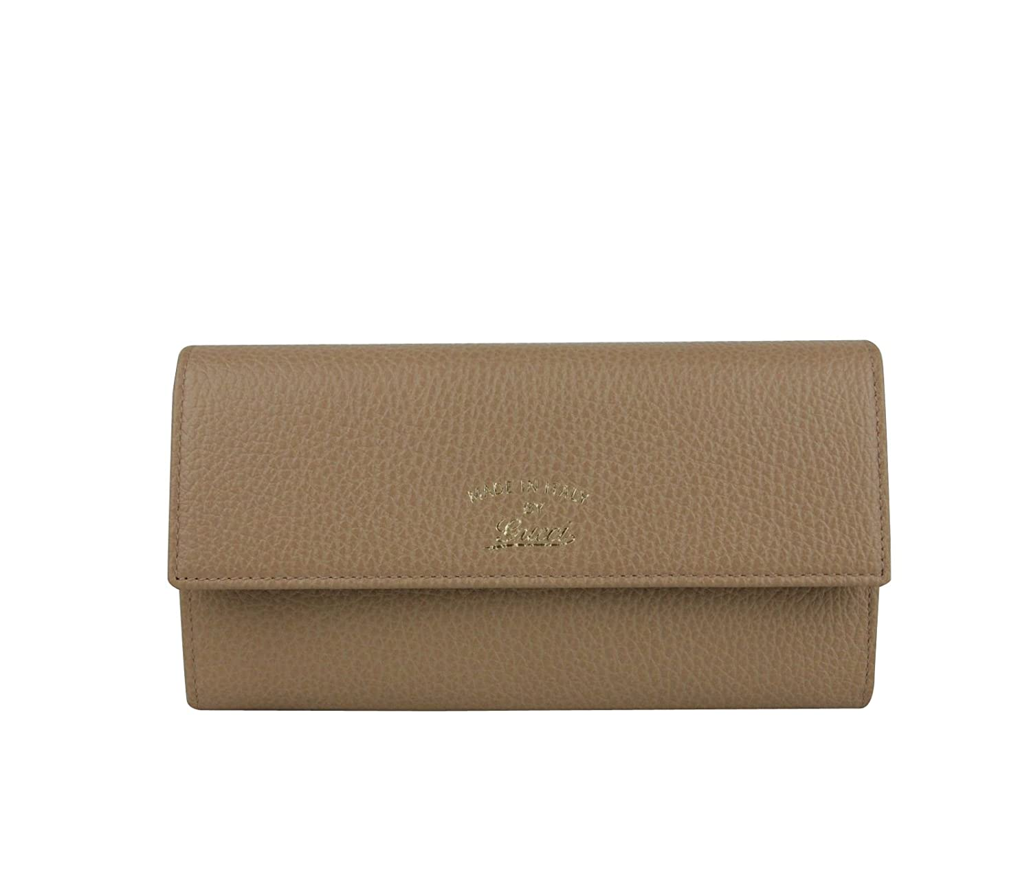 d3d171599ca78a Gucci Light Brown Leather Wallet With Coin Pocket 354496 2762 at Amazon  Women's Clothing store: