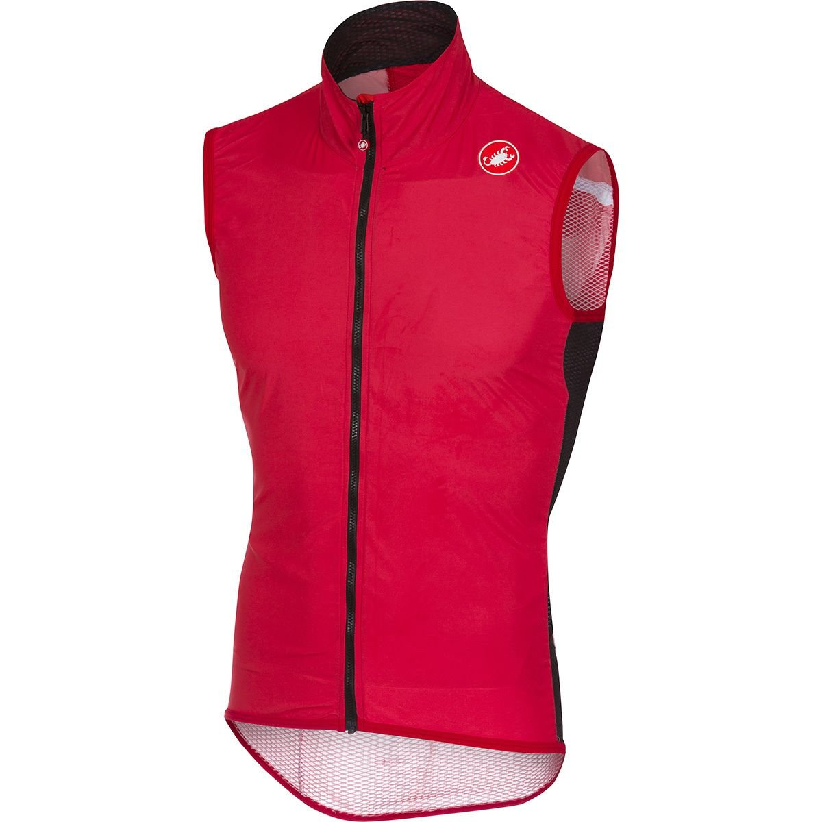 Castelli Pro Light Wind Vest - Men's Red, XXL by Castelli