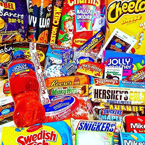 Mystery American Candy Box Giant ** Brand New** – The UK's #1 Candy Store – Featuring All The Most Popular American Candy