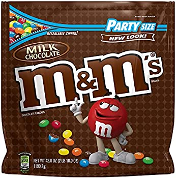 M&M'S Milk Chocolate Candy Party Size (42oz Bag)