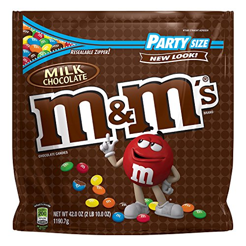 M&M's Milk Chocolate Candy Party Size 42-Ounce Bag (Milk Chocolate Candy)