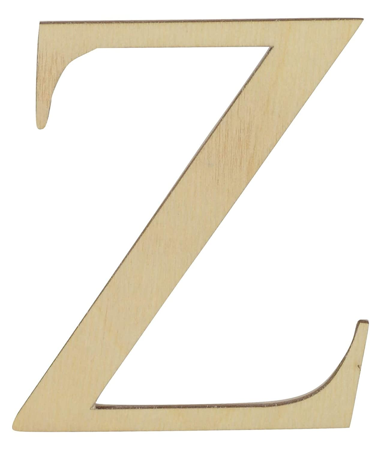 Greek Letters 6 inches Tall in Various thicknesses Theta, 1//8 Thick Baltic Birch Plywood