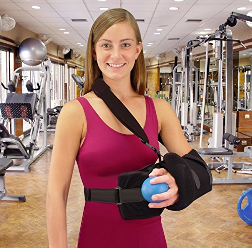 Universal Shoulder Rotator Cuff Sling Immobilizer With Ab...