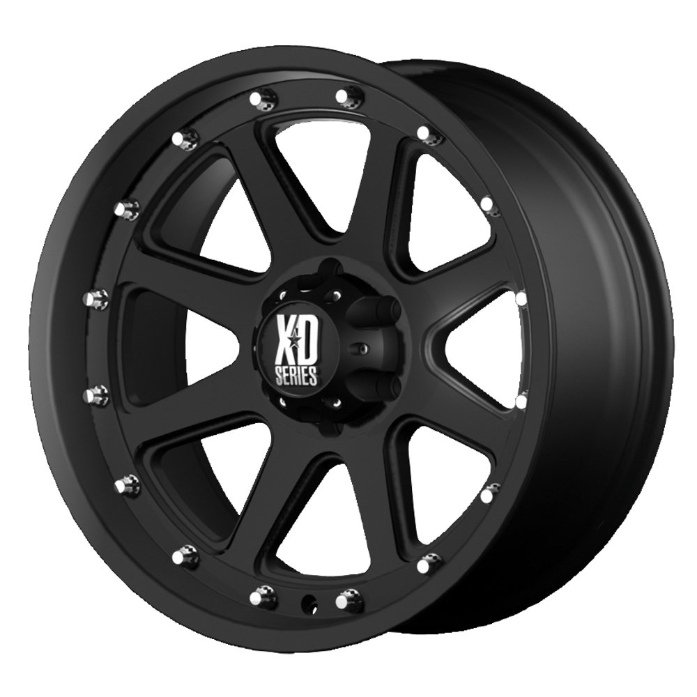 XD Series by KMC Wheels XD798 Addict Matte Black Wheel (18x9''/6x114.3mm, +18mm offset)