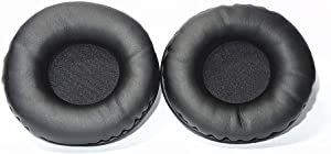 Nature Replacement Ear Pads Pad Cushion for JVC HA-S400B HA-S400 HA-NC80 HA-NC120 Noise Cancelling Headphones