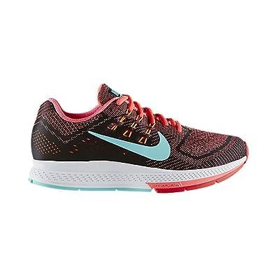 Nike Zoom Structure 18 Rote Laufschuh Frauen