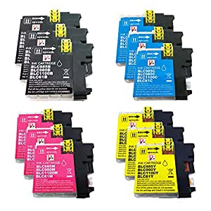 PerfectPrint - 12 cartuchos de tinta LC-985 de impresora ...