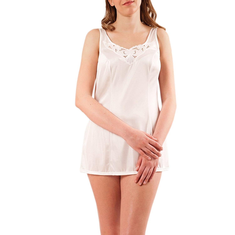 Graziella Hemdr/öckchen aus 100/% ENKA Viskose in 11 Gr/ö/ßen von 40-60 Unterrock Unterkleid