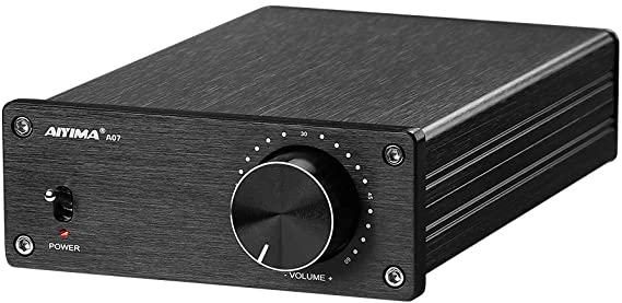 Amazon.com: AIYIMA A07 TPA3255 Power Amplifier 300Wx2 HiFi Class D Stereo Digital Audio Amp 2.0 Sound Amplifier for Speaker Home Theater System (A07+DC 32V Power Adapter): Home Audio & Theater