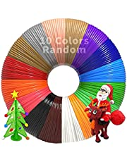 PLA 3D Filament Refills Bundle - Printer Pen Start Refill Packs - Printing Plastic Filiment Suitable Doodler to Create Art Crafts Things, Gel Clay Material is Perfect Birthday and Christmas Gifts