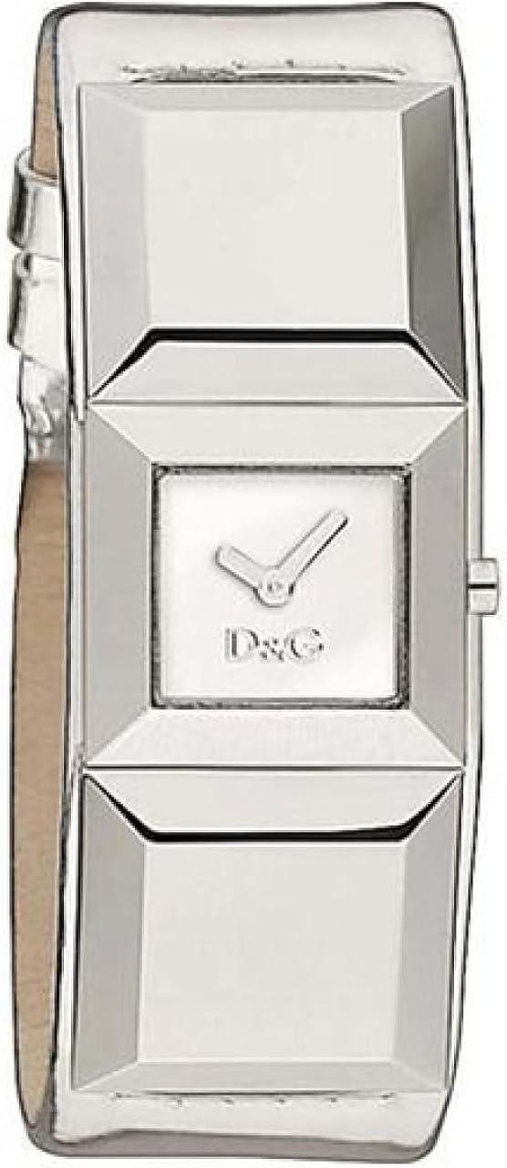 Dolce & Gabbana Reloj Analógico para Mujer de Cuarzo con Correa en Piel DW0272