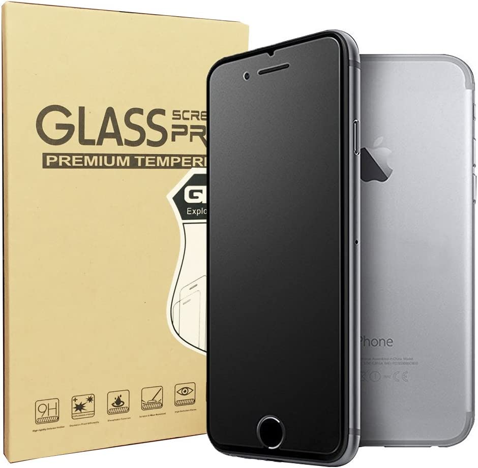 iPhone 8/iPhone 7 Matte Screen Protector, Sonto Tempered Glass Film Anti-Fingerprint Anti-glare Protector for iPhone 8/7 4.7 inch, Ultra Slim Smooth as Silk (iPhone 7/8)