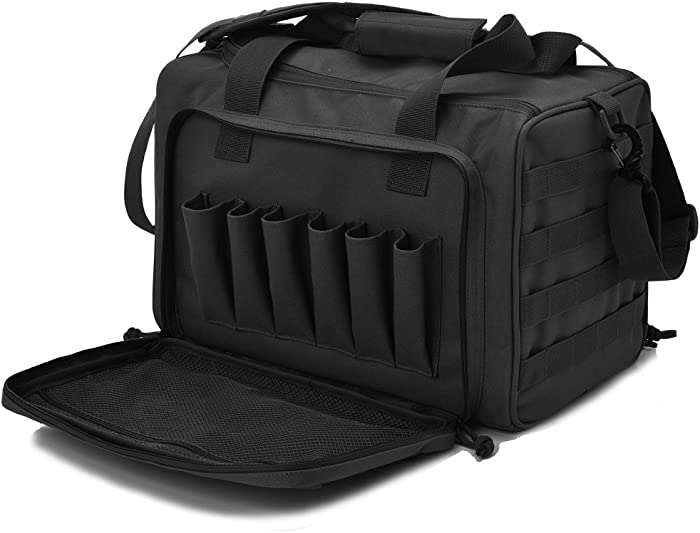 The Best Handgun Shooting Range Backpack With Cleaning Kit