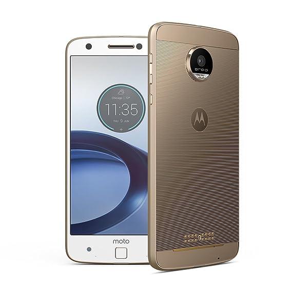 a8c6190b1 Amazon.com  Motorola Moto Z Droid Force XT1650-02 Gold White 32GB ...
