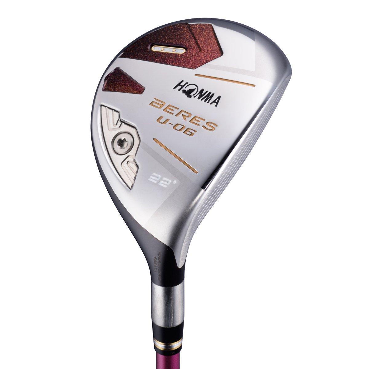 本間ゴルフ ユーティリティ BERES べレス U-06 レディース ユーティリティ ARMRQ X 38 2S シャフト カーボン レディース U06LU2S28 右  ロフト角:28度 U28 フレックス:L B079VKHBBN