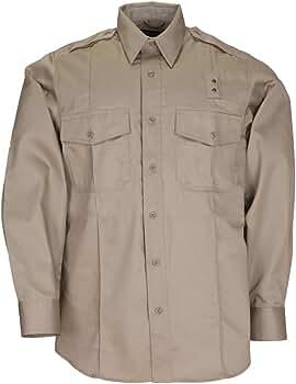 5.11 Hombres PDU Clase A de Sarga de Manga Larga Camiseta, Hombre, Silver Tan: Amazon.es: Ropa y accesorios