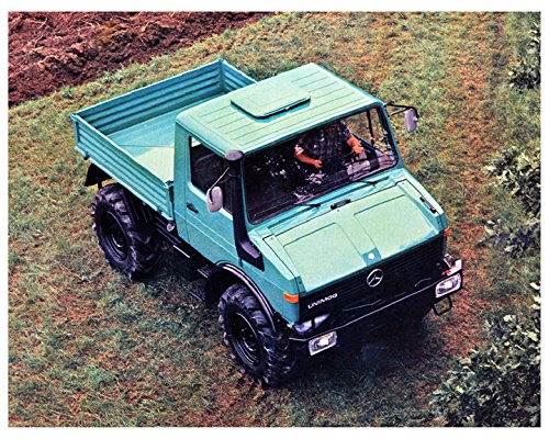 1980 Mercedes Benz Unimog Agriculture & Forestry Truck Factory Photo
