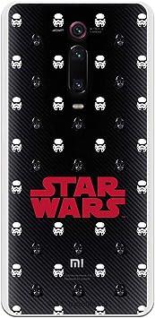 Funda para Xiaomi Mi 9T (Redmi K20) Oficial de Star Wars Patrón D/S para Proteger tu móvil. Carcasa para Xiaomi de Silicona Flexible con Licencia Oficial de Star Wars.: Amazon.es: Electrónica