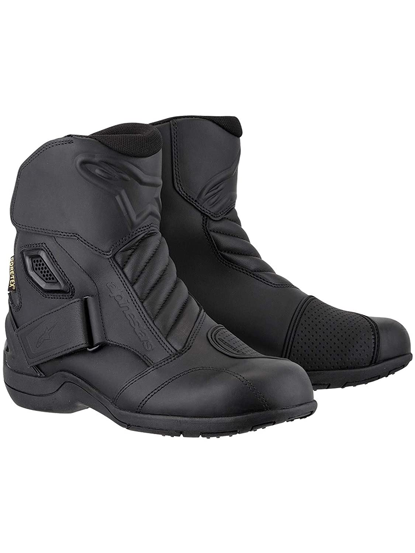 Black, EU Size 41 Alpinestars New Land Gore-Tex Mens Motorcycle Street Boots