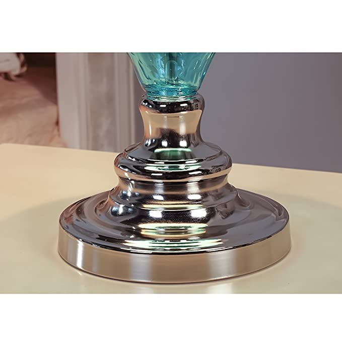 Amazon.com: Lámpara de mesa de estilo mediterráneo, de ...