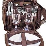 Picknick-Tasche-inkl-Geschirr-fr-4-Personen-Art-600519