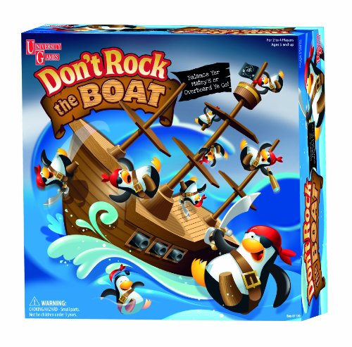 University Games Don't Rock The Boat Game (Games Collectible Card Rock)