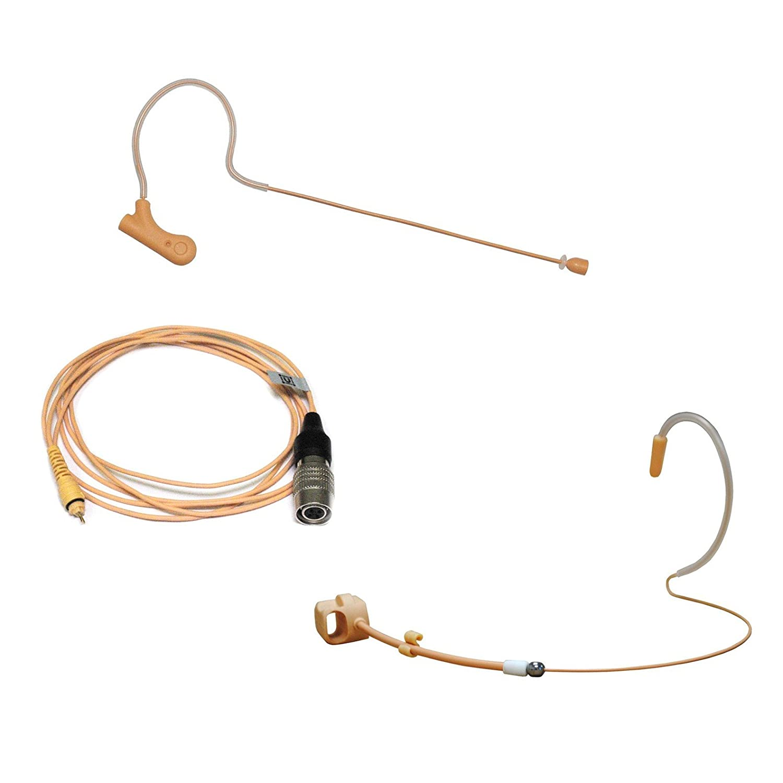 Tan Color U-Voice UVS70DTF H4P Detachable Mini Headset Microphone ...