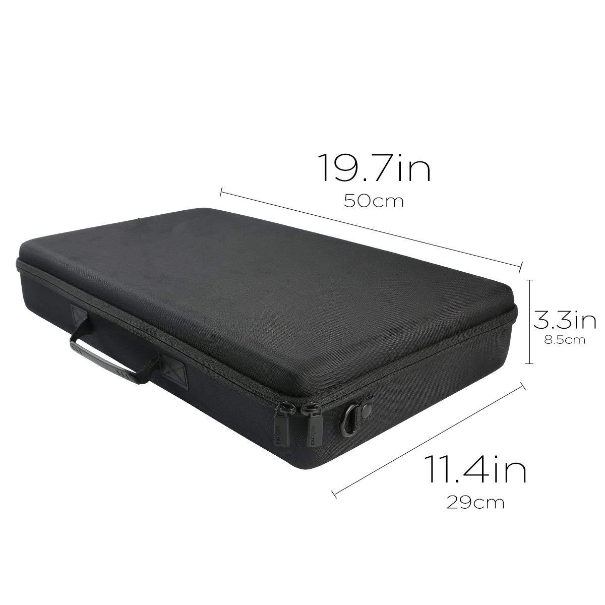 co2crea Hard Travel Case for Nektar Impact LX25+ Premium Midi Controller by co2crea (Image #4)