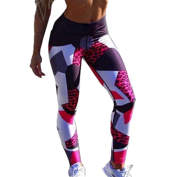 FAMILIZO Leggings Deporte Mujer Yoga High Waist Leggings ...
