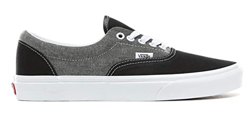 fd8349ec VANS - ERA - Chambray - Canvas Black/True White: Amazon.co.uk: Shoes ...