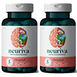 NEURIVA Original Brain Performance (30 count), Brain Support Supplement With Clinically Proven Natural Ingredients 1 ea…