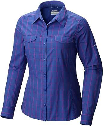 Columbia Women's Silver Ridge Lite Plaid Long Sleeve Shirt